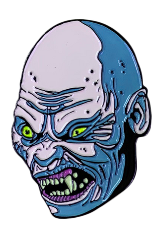 Bald Demon Enamel Pin