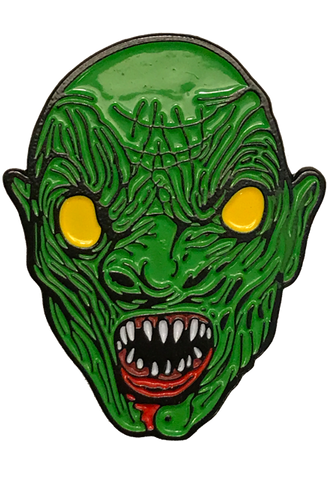 Sewer Monster Enamel Pin