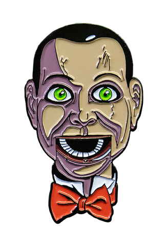 Dead Silence Billy Enamel Pin