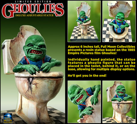 Ghoulies Deluxe Poseable Statue