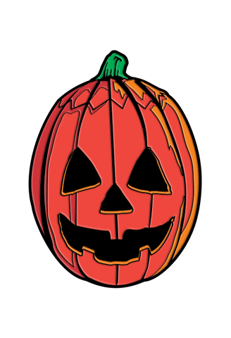 Pumpkin Mask Pin
