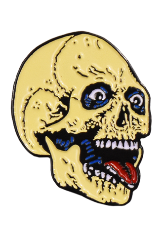 The Return of the Living Dead Party Time Skeleton Enamel Pin