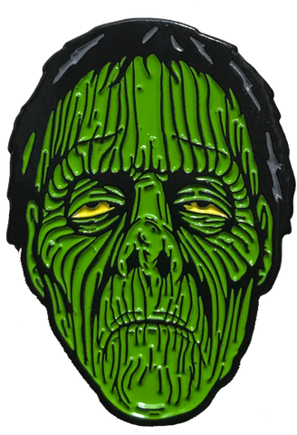 Radio Active Zombie Enamel Pin
