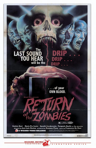 Return of the Zombies Print