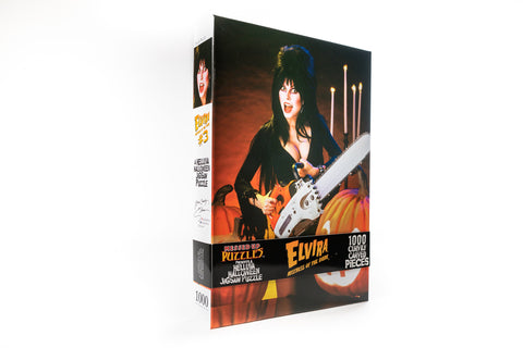 Elvira Jigsaw Puzzle (Version 'C')