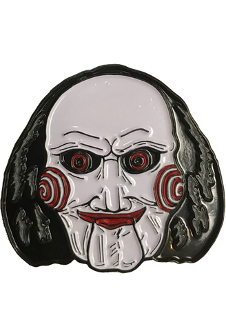 Saw Billy Enamel Pin