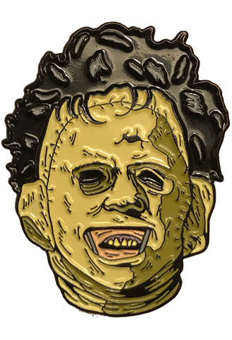 The Texas Chainsaw Massacre Leatherface Killer Enamel Pin