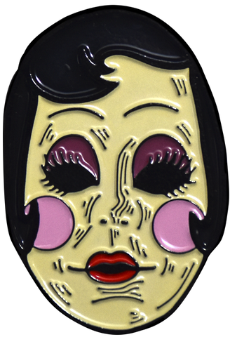 The Strangers Prey At Night Pin Up Girl Enamel Pin