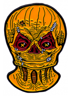Trick 'r Treat Sam Unmasked Enamel Pin