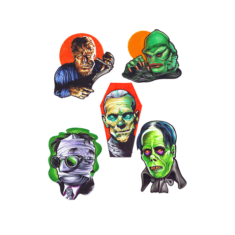 Universal Monsters Wall Decor- Series 1
