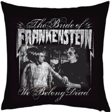The Bride of Frankenstein Pillow