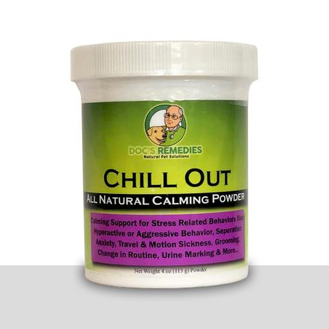 Doc's Remedies Chill Out - Calming Supplement - 4oz Powder