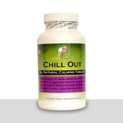 Doc's Remedies Chill Out - Calming Supplement - 60 PB Flavored Chewable Tablets