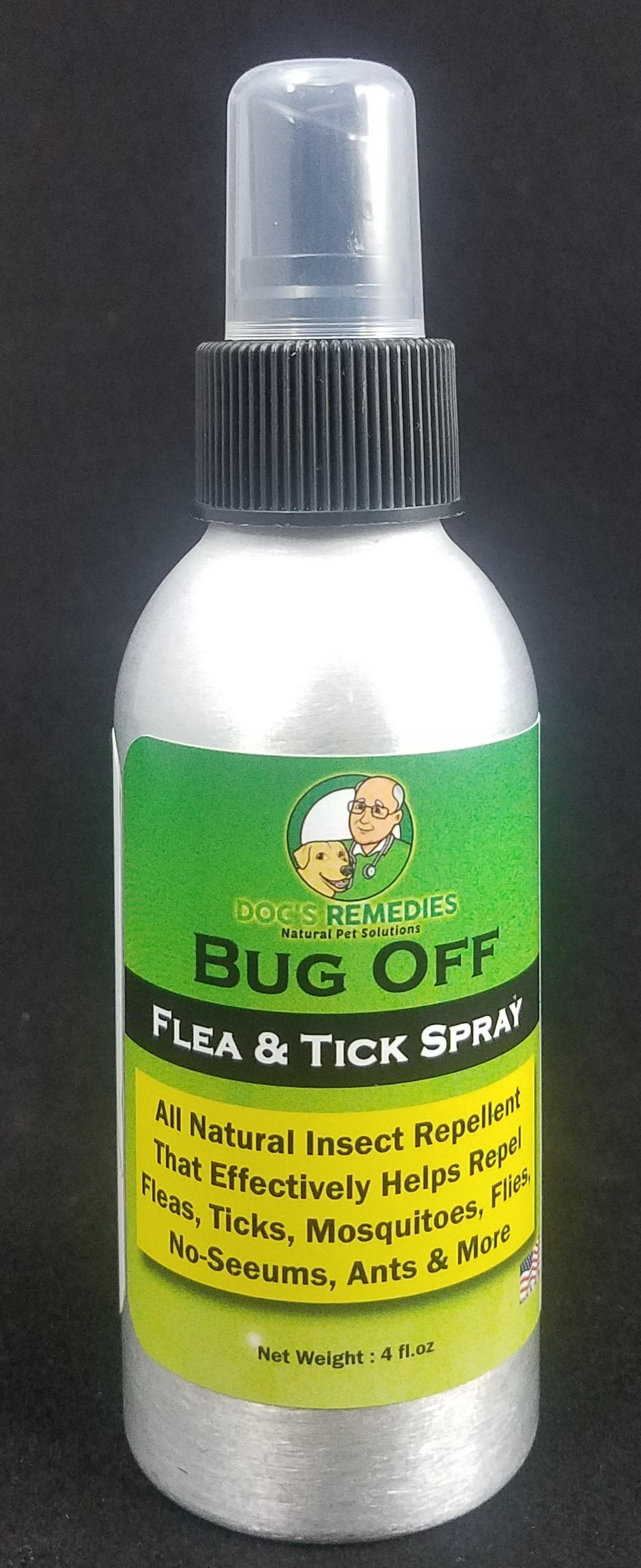 Organic Insect Flea & Tick Spray