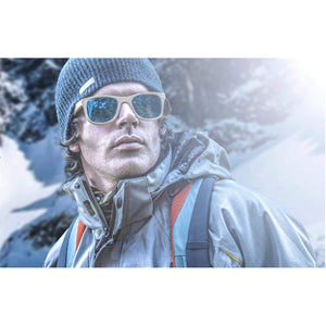 Alpine Ice Bamboo Sunglasses