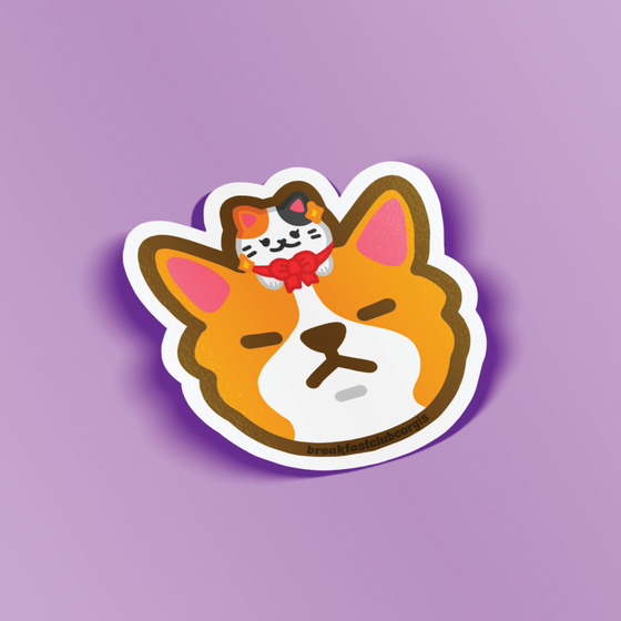 BCC Kitty Vinyl Sticker
