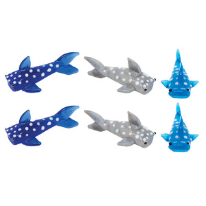 Mini Spotted Sharks: 6pc