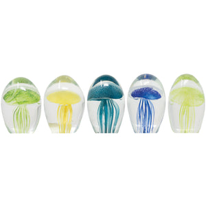 Assorted Mini Jellyfish Coastal 5pc