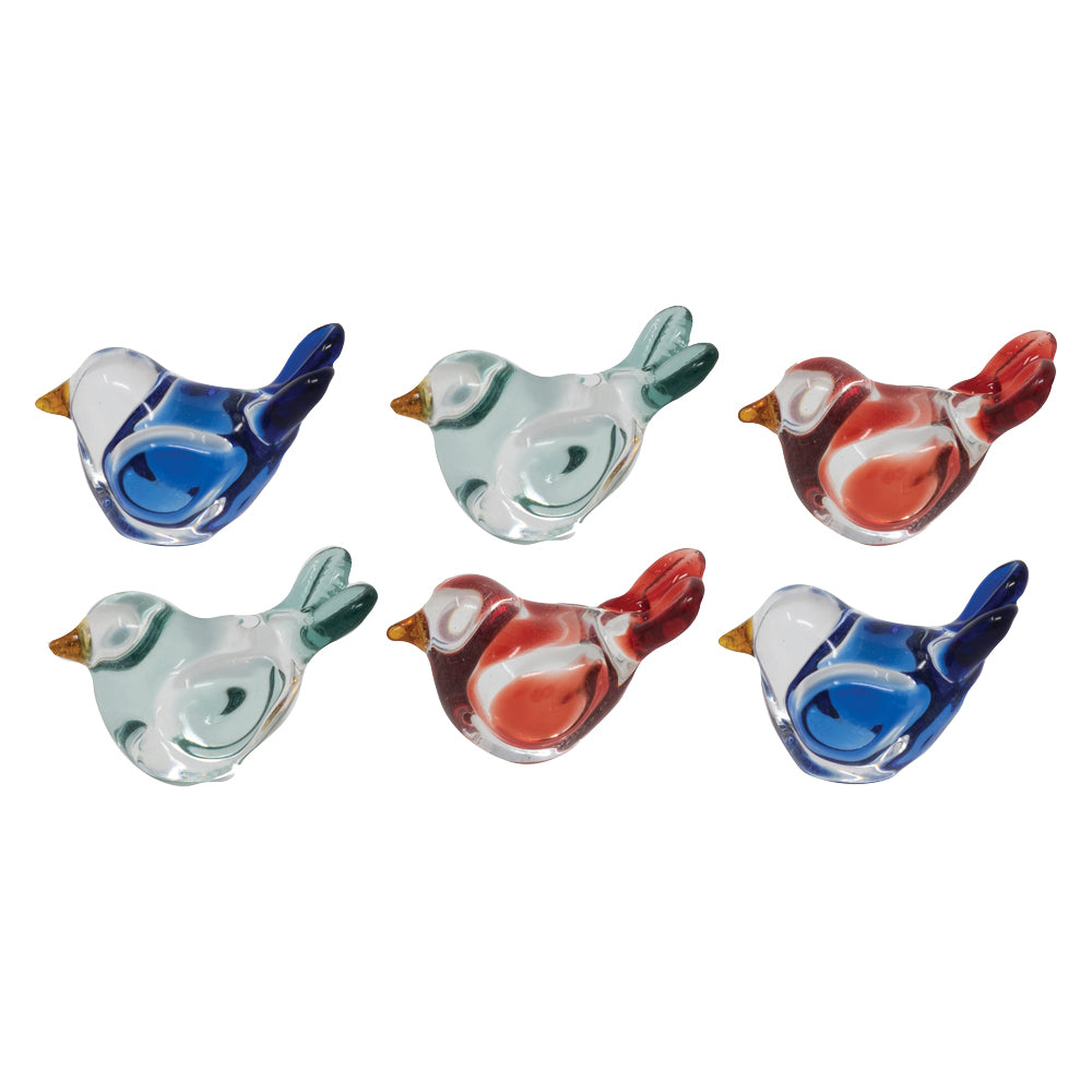 Mini Birds: 6pc