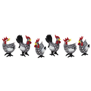 Plymouth Rock Hens: 6pc