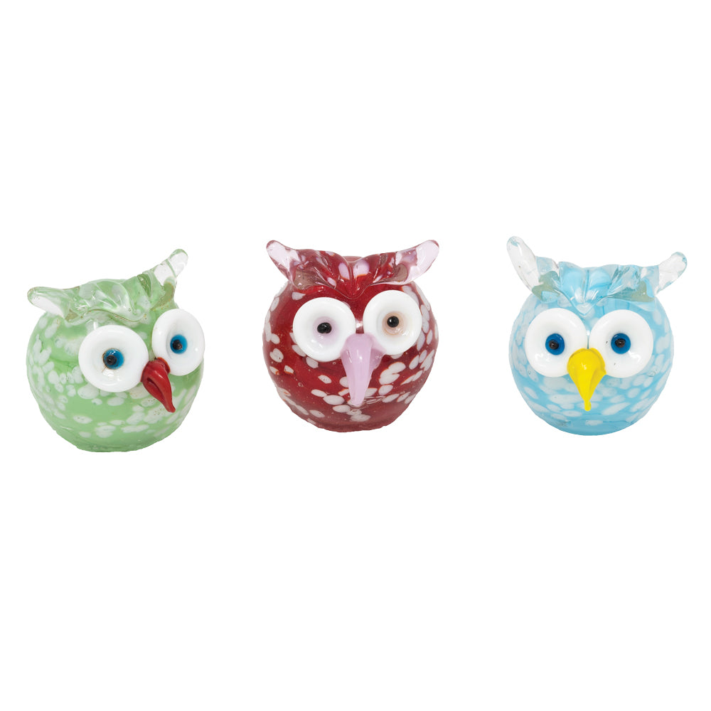 Hoot Owls Assorted: 3pc