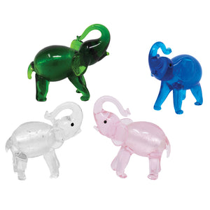 Silver Elephants: 4pc