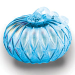 Blue Facet Large Pumpkin