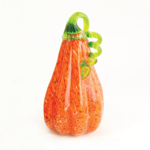 Orange Mosaic Gourd Medium
