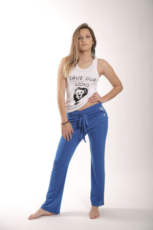 blue nalah sweatpants