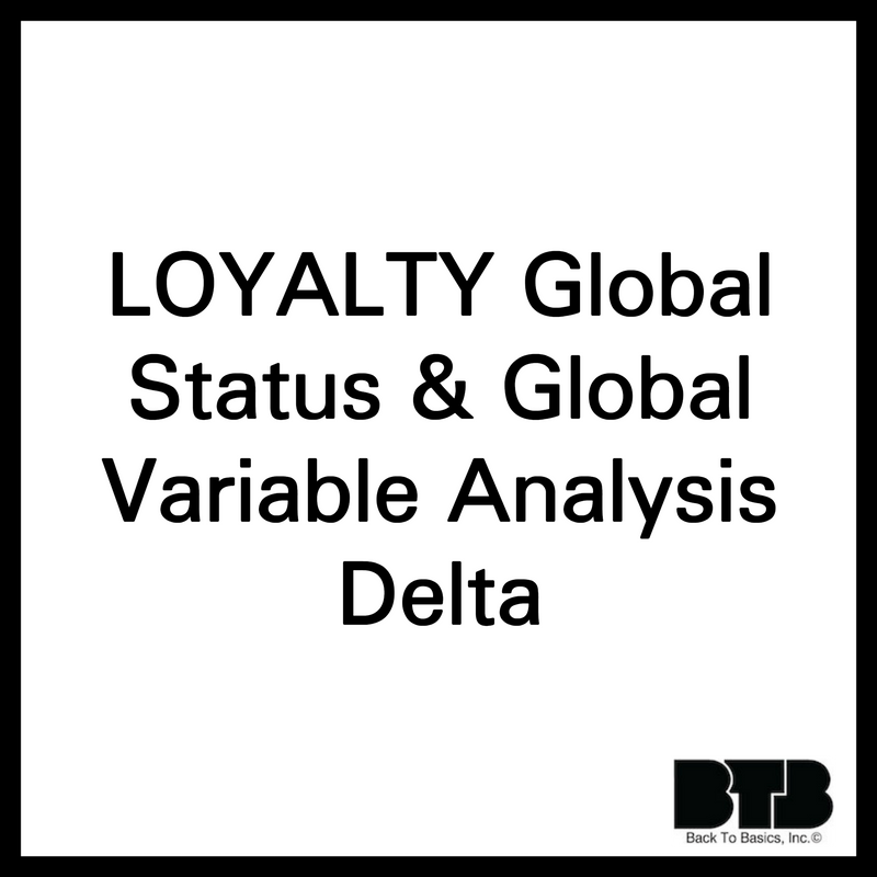 LOYALTY Global Status & Global Variable Analysis Delta by MySQLServerTuning.com
