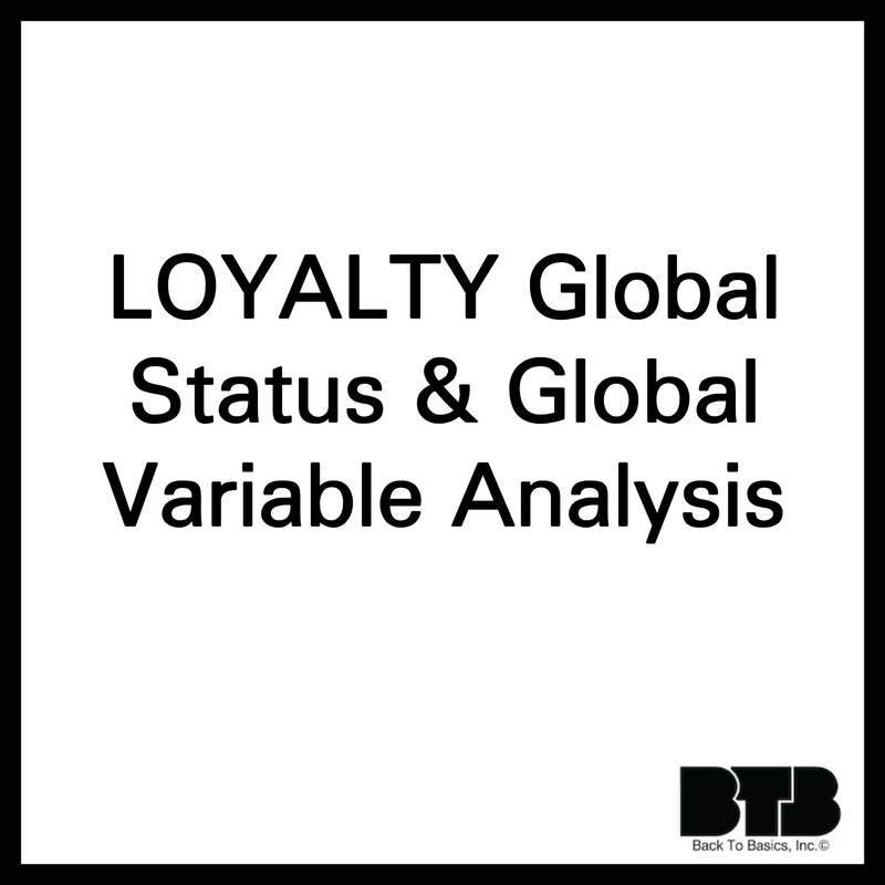 LOYALTY Global Status & Global Variable Analysis by MySQL Server Tuning