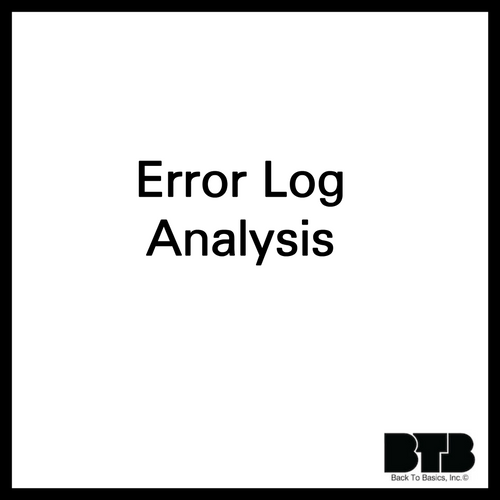 Error Log Analysis