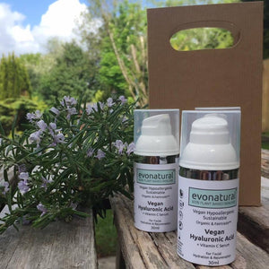 EvoNatural 100% Plant Based Natural Organic Skin Care