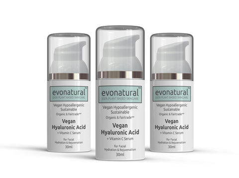 EvoNatural Plant Based Ingredients, No Synthetic Cosmetics