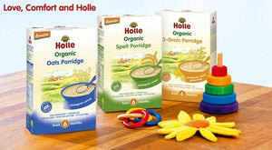 Care and Nutrition with Holle Organic Oatmeal Porridge
