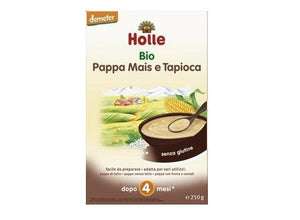 Holle Baby Cereal - Corn with Tapioca