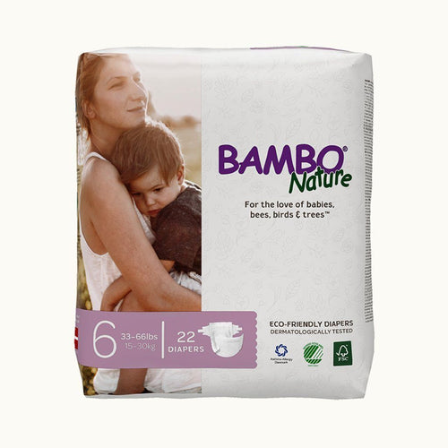 Bambo Nature Baby Diapers 6 XL (22pcs.) Diapers and Wipes hippholle.com