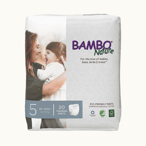 Bambo Nature Training Pants 5 Junior (20 pcs.) Diapers and Wipes hippholle.com