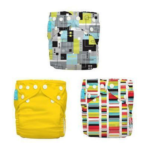 Charlie Banana 3 Diapers 6 Inserts Organic Artist One Size Cloth Diapers & Accessories hippholle.com