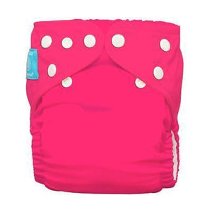 Charlie Banana Diaper 2 Inserts Fluorescent Hot Pink One Size Hybrid AIO Cloth Diapers & Accessories hippholle.com