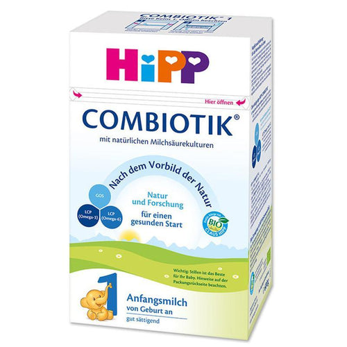 HIPP Organic Baby Formula Combiotic Stage 1 (600g) - German Version