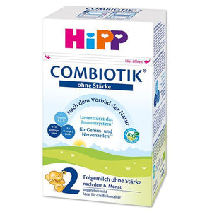 HIPP Organic BIO COMBIOTIC Stage 2 NO STARCH 4 Pack Organic Formula hippholle.com