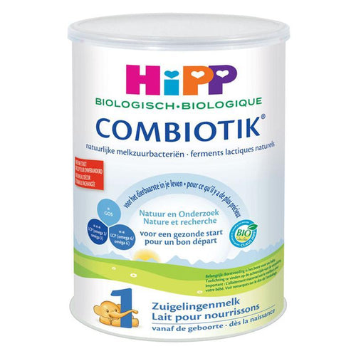 HiPP Organic Combiotic Stage 1- Dutch Version (900g CAN) - NO SOY 4 Pack Organic Formula hippholle.com