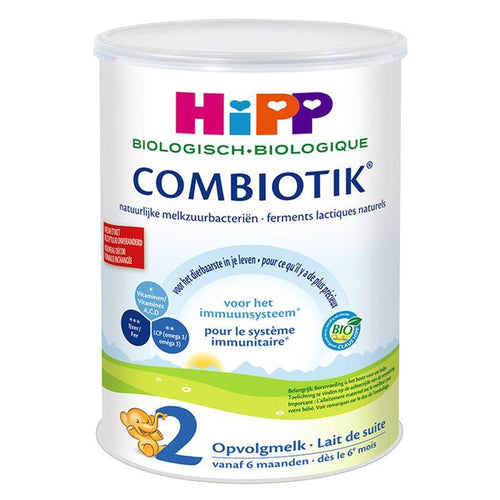 HiPP Organic Combiotic Stage 2 - Dutch Version (900g Can) - 8 Pack Organic Formula hippholle.com