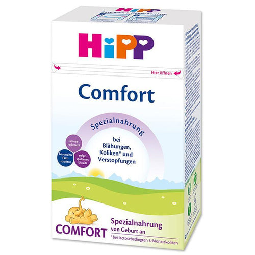 Hipp Special COMFORT (500g) 4 pack Organic Formula hippholle.com