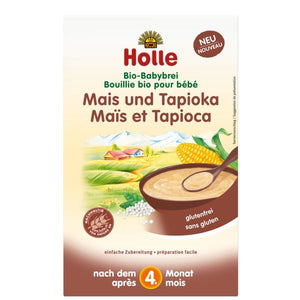 Holle BABY CEREAL - Corn with Tapioca Baby Cereal myorganiccompany