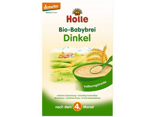 Holle BABY CEREAL Organic-Spelt Baby Cereal myorganiccompany