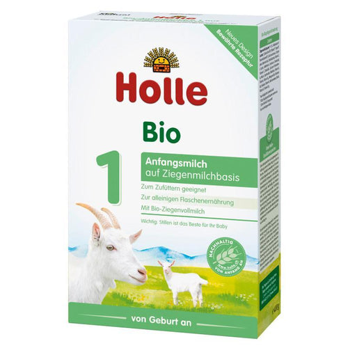 HOLLE Organic Goat Milk Stage 1 (400g) 4 Pack Organic Formula hippholle.com