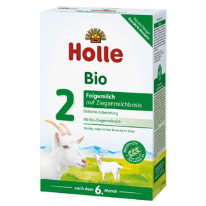 HOLLE Organic Goat Milk Stage 2 (400g) 8 Pack Organic Formula hippholle.com