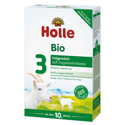 HOLLE Organic Goat Infant Milk Formula Stage 3 (400g) 4 Pack